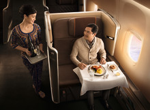 SIA WORLD'S FIRST AIRLINE WITH  NETWORK-WIDE MEAL PRE-ORDERING  FOR PREMIUM CLASS CUSTOMERS