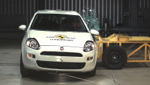 Disappointing year-end sees six three-star Euro NCAP ratings, and the first ever zero-star rating