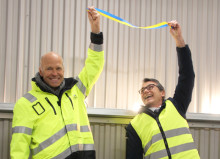 Thomas Concrete Group öppnar ny terminal för bindemedel i Uddevalla