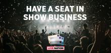 Live Nation i Nordiskt samarbete med SAS - ger unika upplevelser för EuroBonus-medlemmar