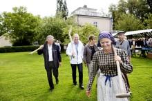 Aroseken och Mimer satte spaden i jorden för 350 nya bostäder på Nordanby Äng