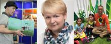 Internationella författare sprider läslust under barnboksveckan