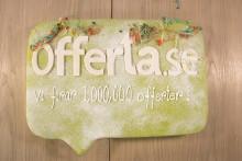 Offerta når en miljon förmedlade offerter