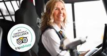 Flygbussarna får TripAdvisors Certificate of Excellence 2019