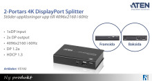 Ny 4K DisplayPort splitter från ATEN