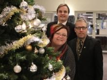 God fortsättning och nytt år 2018 önskar Haninges kommunalråd