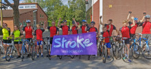 Local pupils raise £3,500 with 100km cycling challenge
