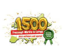 1.500 mal Fressnapf und Maxi Zoo in Europa – 1.500 Gründe zum Feiern