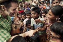 Rakhine, Burma: Clowner skapar hopp i en hopplös situation