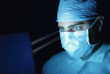 EyeSeeMed by ESINOMED uses Tobii eye tracking to give surgeons hands-free access to data
