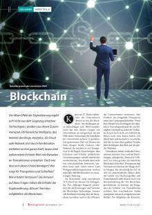 Blockchain - das Betriebssystem der vernetzten Welt
