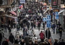 Forskare: Koncentrera inte stadens folkflöden för mycket