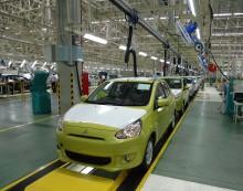 Mitsubishi øker i Thailand