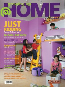 Evorich Flooring Featured on Home Fix's Magazine [Growing Up @ Home]
