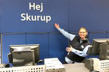 Äntligen öppnar JYSK vid Skurups Handelsplats