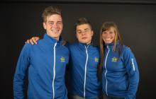 Två paralympier och ett lag uttagna till Paralympics