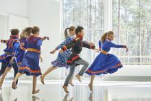 Vinterdans – ett möte i dans i Kirunas nya stadshus