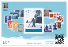 Miniatyrark markerer 2000 frimerker fra Posten