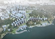 BSK Arkitekter gör Nacka Strand till en levande stad