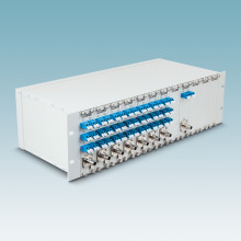 "19"" marshalling panels for efficient fibre-optic transmission"
