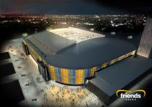 Lysande samarbetsavtal på tre år: Samsung blir vän med Friends Arena