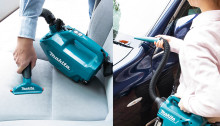 Handhållen dammsugare för städning av bilen