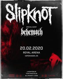 SLIPKNOT offentliggør dansk koncert: Royal Arena 20.02.20