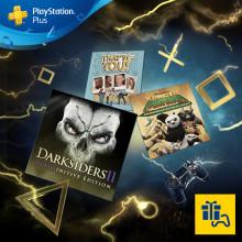 Darksiders II: Deathinitive Edition och Kung Fu Panda: Showdown of Legendary Legends gratis för PS Plus-medlemmar i december