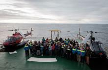 Polarforskare återvänder efter lyckad Grönlandsexpedition