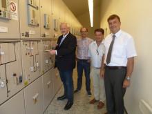 Presseinformation: Bayernwerk verbessert Versorgungssicherheit in Altötting - Neue Schaltstation in Betrieb genommen