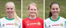 Tre spelare förlänger med Hammarby Damfotboll