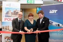 Oslo Airport launches latest link with LOT Polish Airlines
