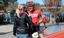 Premiärsegraren Matthias Wengelin cyklar Lidingöloppet MTB 2015
