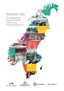 Stockholm-Oslo: En kartläggning av kontaktintensiteten mellan de två huvudstadsregionerna