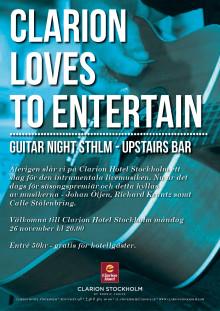 Guitar Night STHLM 26 november