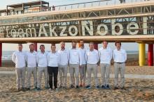 Team AkzoNobel presenterar besättningen som ska vinna Volvo Ocean Race 2017/2018