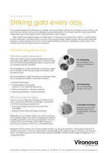 Immunogold Services