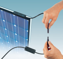 Ny kopplingsbox för fasadintegrerade solpaneler
