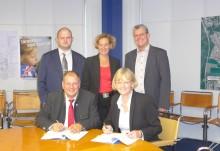 Presseinformation: Gemeinde Unterhaching und Bayernwerk bleiben Partner bis 2025 - Konzessionsvertrag zum Betrieb des Stromnetzes verlängert