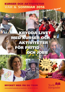 Studiefrämjandet i Stockholms kurskatalog vår-sommar 2014