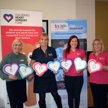 Children's Heart Surgery Fund donate £30,000 TO The Sick Children's Trust to keep families with seriously ill children in hospital together