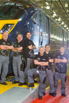 Hitachi Rail Europe Wins RailStaff Award for Depot Team of the Year