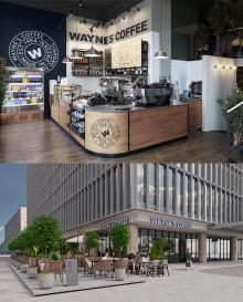 Wayne's Coffee öppnar kafé i Vietnam