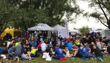 125 anställda från Jönköping Energi  deltog i Blodomloppet