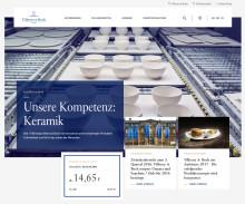 Frischer Auftritt, modernes Design: neue Corporate Website der Villeroy & Boch-Gruppe ist am Start