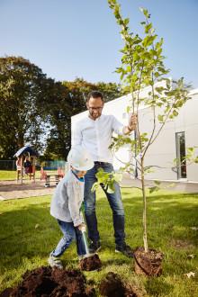 Idag invigs nya förskolan Utforskaren i Helsingborg