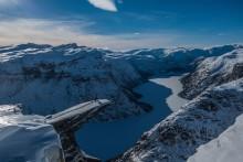 На снегоступах к Тролльтунге