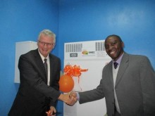 Surbana Jurong's SMEC Foundation donates blood bank refrigerator to Zambia hospital