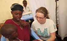 Warwick woman on the frontline in DR Congo