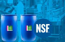 NSF merkki myönnetty F 65 Slidy sekä F 67 Silcon ratavoiteluaineille